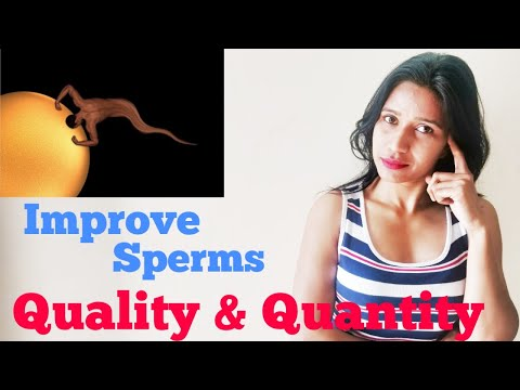 How to boost sperm fast -