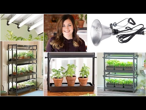 5 Indoor Grow Light System Ideas // Garden Answer
