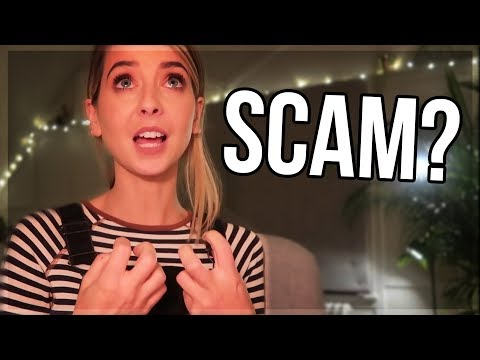Zoella Advent Calendar Apology   Scam?
