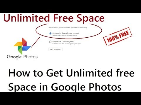 How To Get Unlimited Free Space in Google Photos For Free 2018