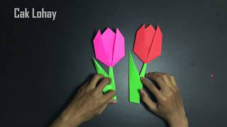 Membuat Origami Bunga Tulip | 180x320