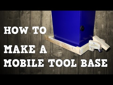Making a Mobile Tool Base