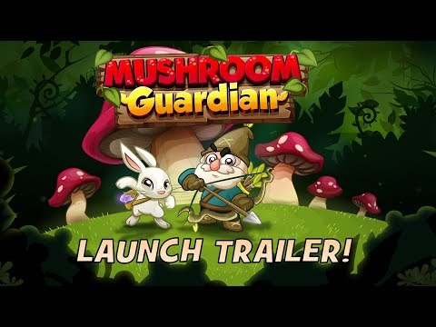 Mushroom Guardian Launch Trailer - Available on iOS, coming soon to Android and PC
