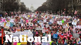 Hundreds of thousands turn out for Women's March on Washington