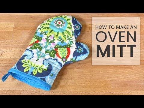 How to Make an Oven Mitt