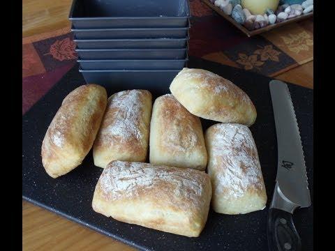 How to Use Bakeware to Shape & Bake No-Knead Sandwich Rolls