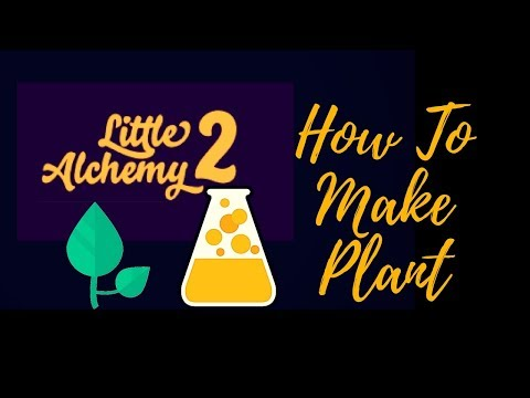 Little Alchemy 2: How To Make Quick Plant ?!