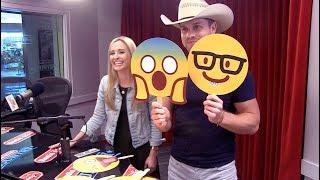 Dustin Lynch Current Mood Emoji Challenge | Radio Disney Country