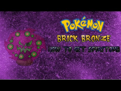 Pokemon Brick Bronze Guide: HOW TO GET SPIRITOMB