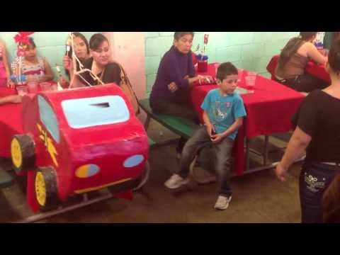 Piñata de Brayan (Cars)