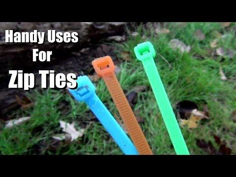Handy Use for Zip Ties