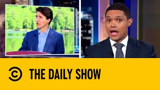 Justin Trudeau Initiates Ban on Single Use Plastic   The Daily Show with Trevor Noah