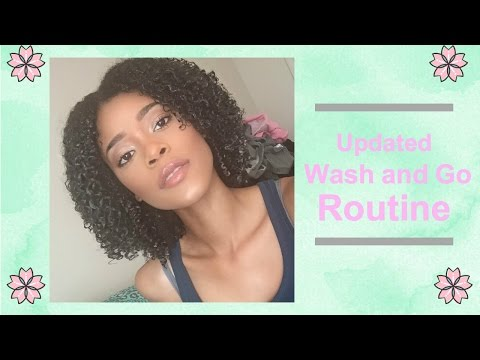Updated Wash and Go Routine | 3C 4A
