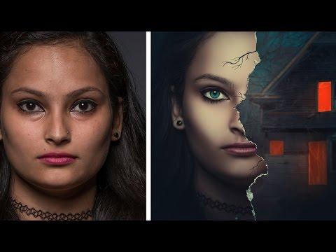 Photshop Manipulation Tutorial | Tear Paper Movie Poster Effect
