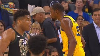 Kevin Durant Gets Bullied By Giannis Antetokounmpo!