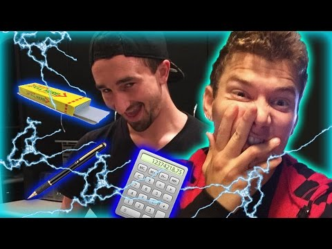ELECTRIC SHOCKING Prank (Shock Gum, Shock Pen and Shock Calculator)