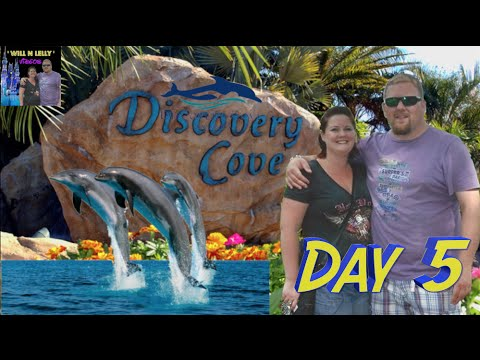 Walt Disney World Vacation May 2015 - Day 5 Discovery Cove