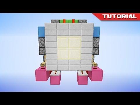Tiny 2x2 Hidden Piston Door [Flush & Seamless]
