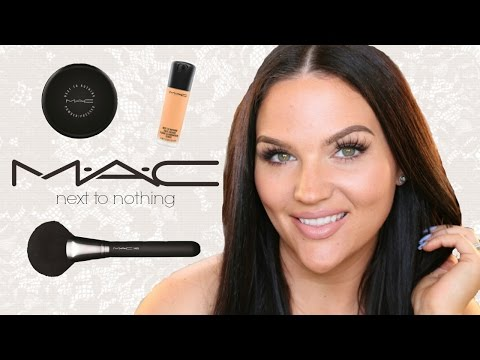 MAC COSMETICS HAUL | Next to Nothing Try On Review