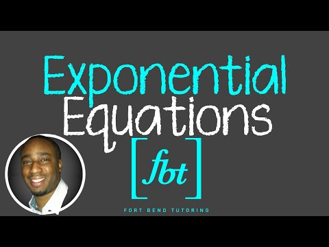 Solving Exponential Equations [fbt] (Step-by-Step)