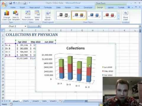 Excel Video 72 Column Charts