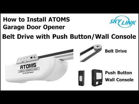 Atoms Belt Garage Door Opener Installation