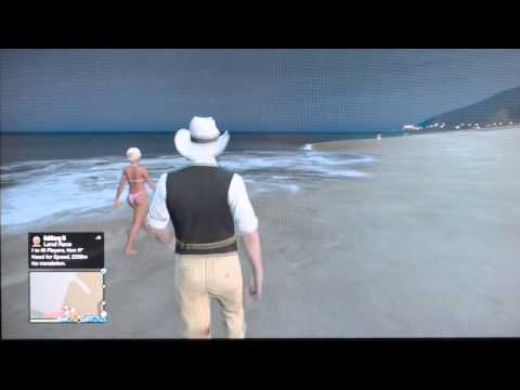 Talking to Girl on the Beach, Be Cool! GTA Game Night 5