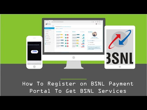 How To Register on BSNL Payment Portal To Get BSNL Services