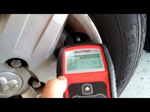 How to test and replace tpms sensors