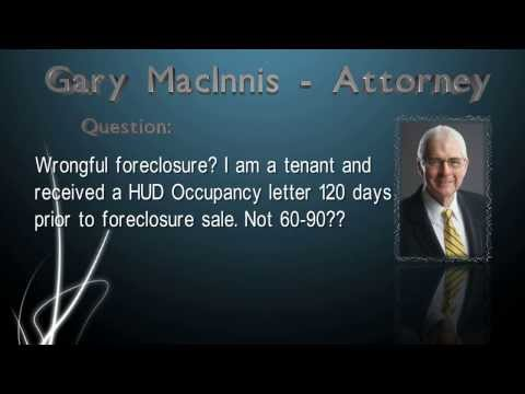 Wrongful foreclosure?
