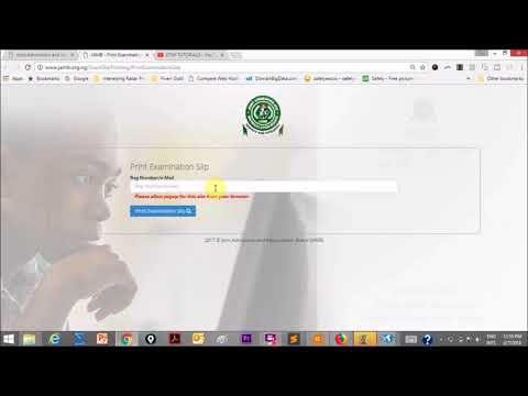 Jamb 2018 | How to Check Your Jamb Exam Center & Date