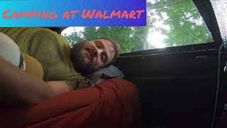 Urban Stealth Truck Camping at Walmart / Boondocking