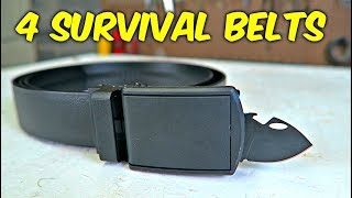4 Survival Belts Put to the Test