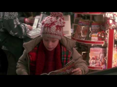 Home Alone kevin shopping