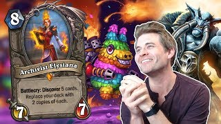 (Hearthstone) Archivist Elysiana and the Neverending Story