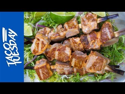 Taco Tuesday: Grilled Tuna Tacos