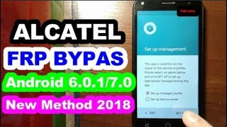 Bypass Google Account Alcatel A5 LED 5085D/X/A Remove FRP