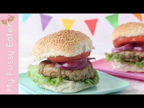 Feta & Spinach Turkey Burgers | Easy Turkey Burger Recipe