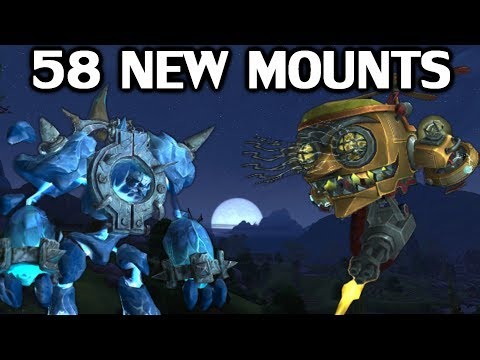 The 58 New Mounts in Battle For Azeroth