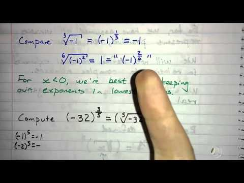 5.2.6 - Rational Exponents and Domain