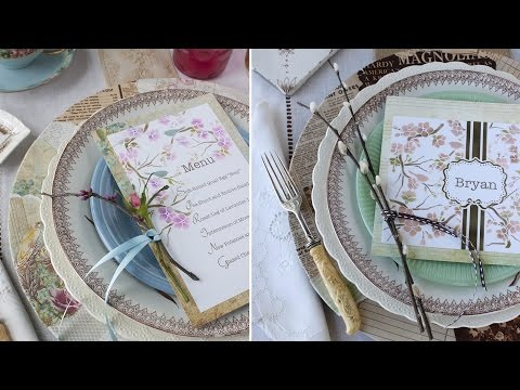 Spring Place Setting, Two Ways