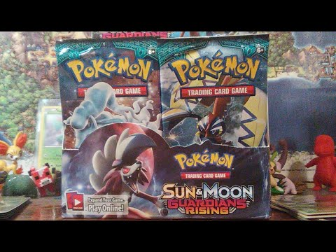 Pokemon Sun and Moon Guardians Rising Booster Box Part 2