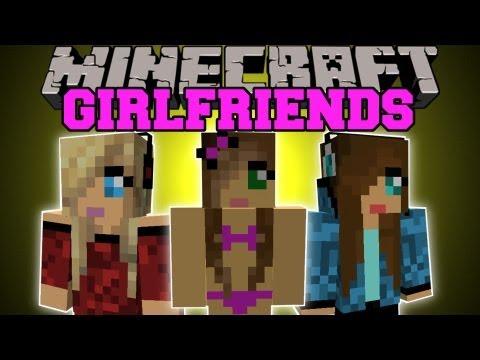 Minecraft: GIRLFRIENDS! (GIRL FIGHTS, BIKINIS, DANCING) Girlfriends Mod Showcase
