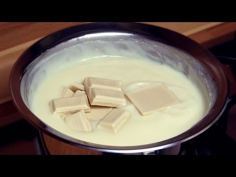 White Chocolate Cake Filling  | Custard Recipe