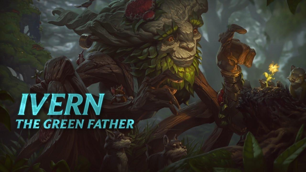 Ivern: Champion Spotlight | Gameplay - League of Legends