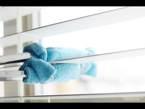 How to Clean Blinds with DIY Blind Cleaning Tool