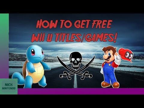 [OUTDATED!] [CHECK PINNED COMMENT!] How to Download and Install FREE Wii U Games!