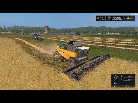 Farming Simulator 17 Timelapse | South Mountain Creamery EP#2