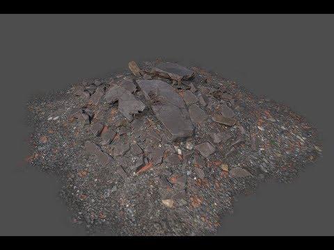 Making of Rubble Pile 3ds max- Substance painter tutorial part - 3