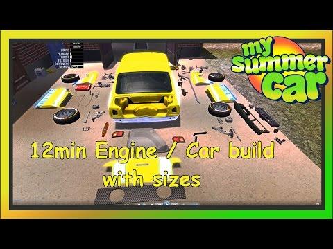 My Summer Car 12min Tutorial Engine Car Build Save Game Pakvim